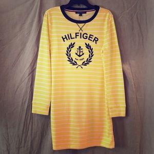 NWT TOMMY HILFIGER Long Sleeve Striped shirt/dress